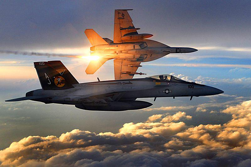 Amerikai vadászgépeket üldöztek el oroszok