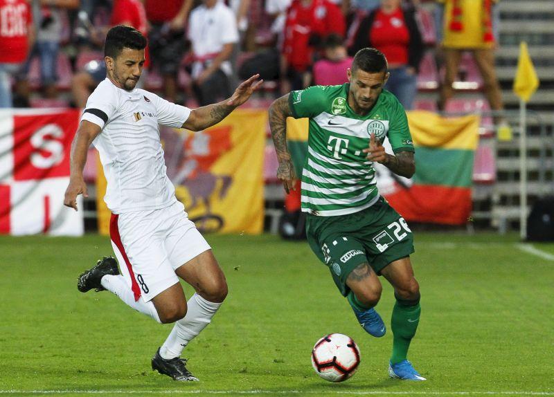 Döntetlent játszott Litvániában a Fradi – hazai pályán dől el a továbbjutás