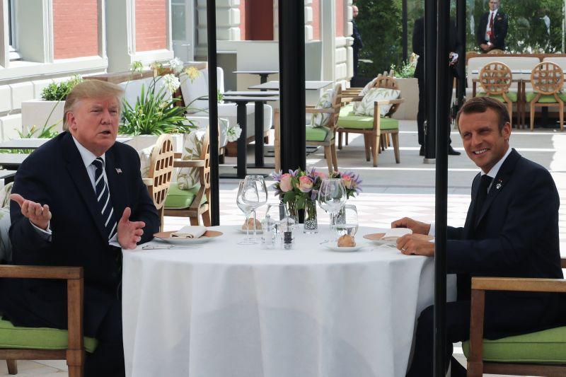 Trump a G7-es csúcson is hozta a formáját