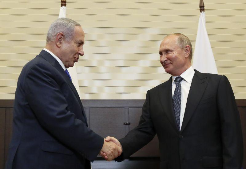 Putyinnak nagyon fontos Izrael
