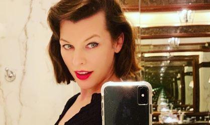 Újra anyuka lesz Milla Jovovich