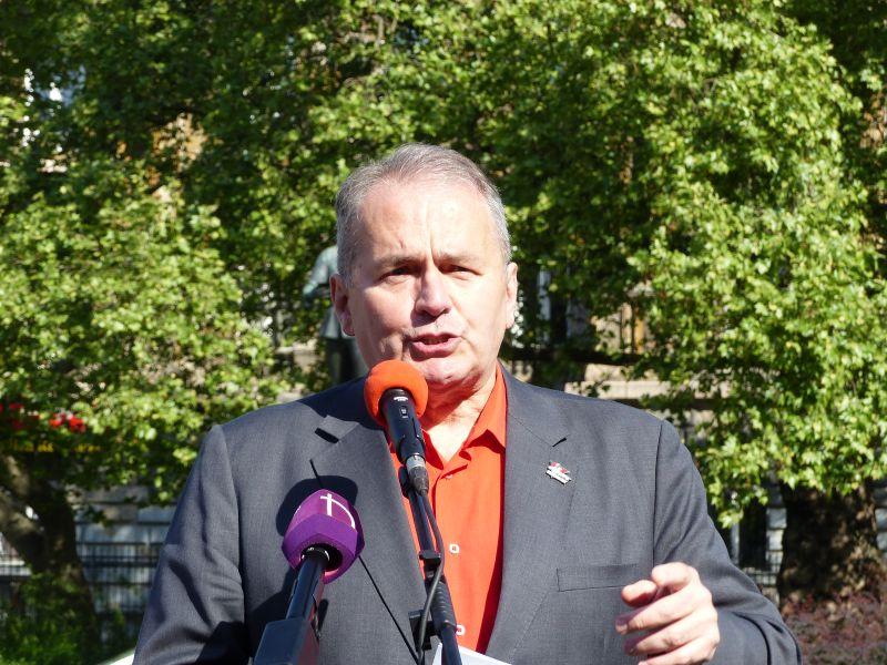 A legújabb főpolgármester-jelölt: Thürmer Gyula