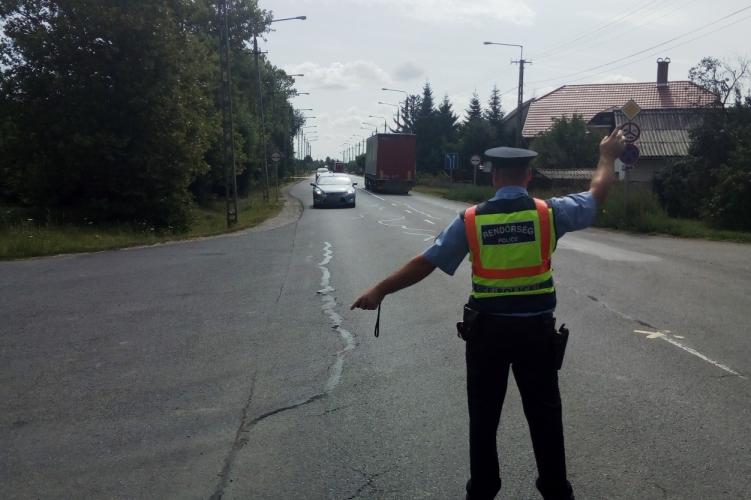 Így vezet a magyar – csaknem tízezer sebességtúllépést regisztrált a rendőrség egy hét alatt
