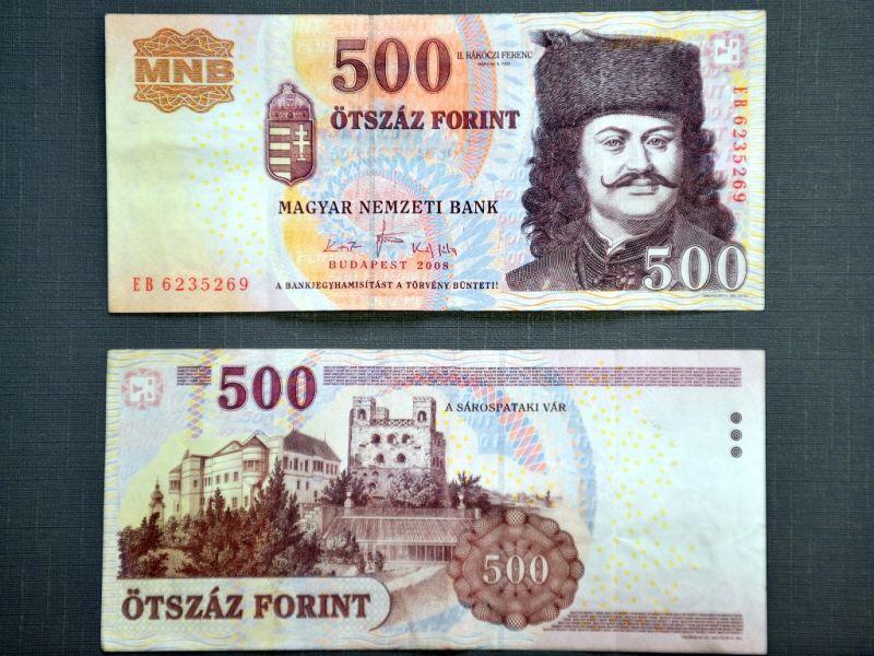 Bankjegycsere előtt áll a forint