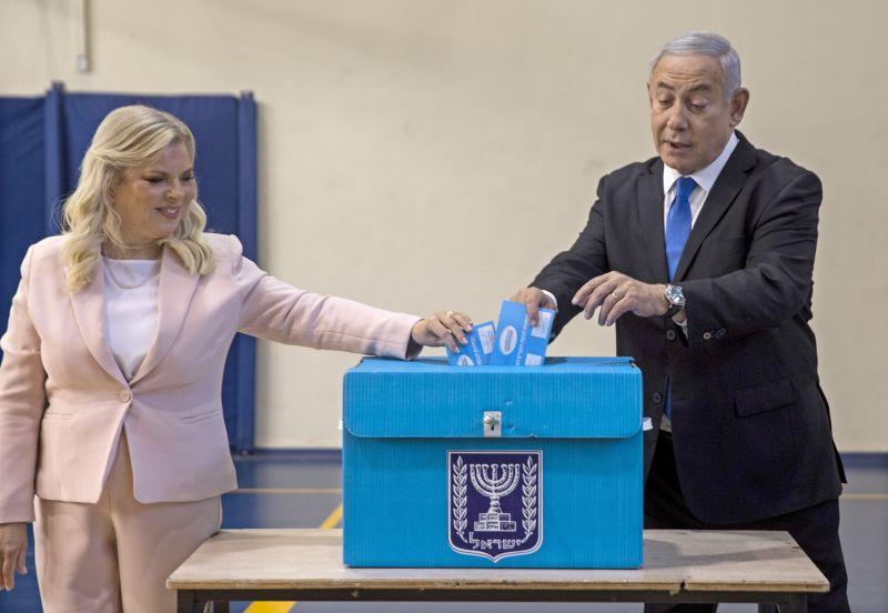 Exit poll: Netanjahu elveszítette az izraeli választást