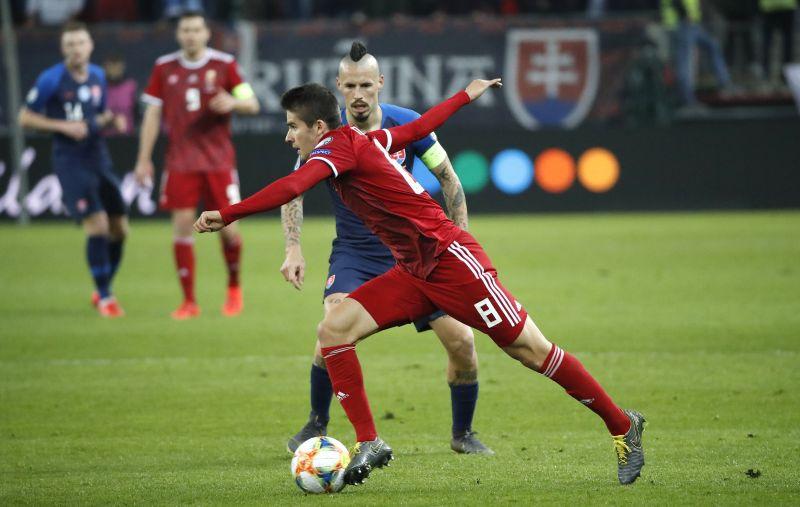 Itt a magyar válogatott kezdőcsapata a szlovákok ellen