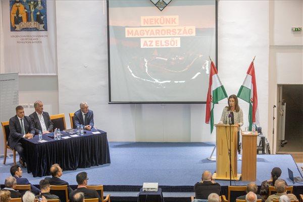 Varga Judit elmondta, kik az alkamas jelöltek az önkormányzati választáson