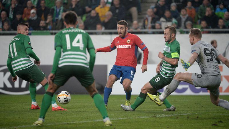 Ferencvárosi döntetlen a CSZKA Moszkva ellen
