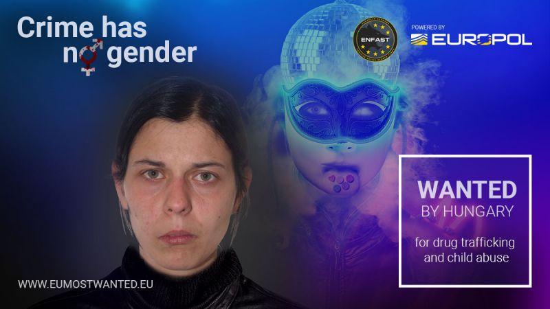 Magyar nő is bekerült Európa legkeresettebb bűnözői közé