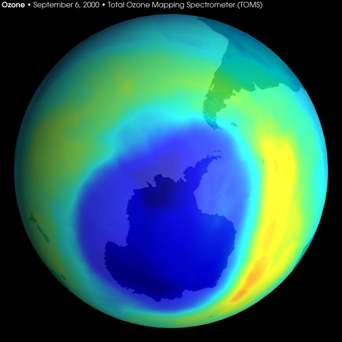 1982 óta soha nem volt ekkora az ózonlyuk