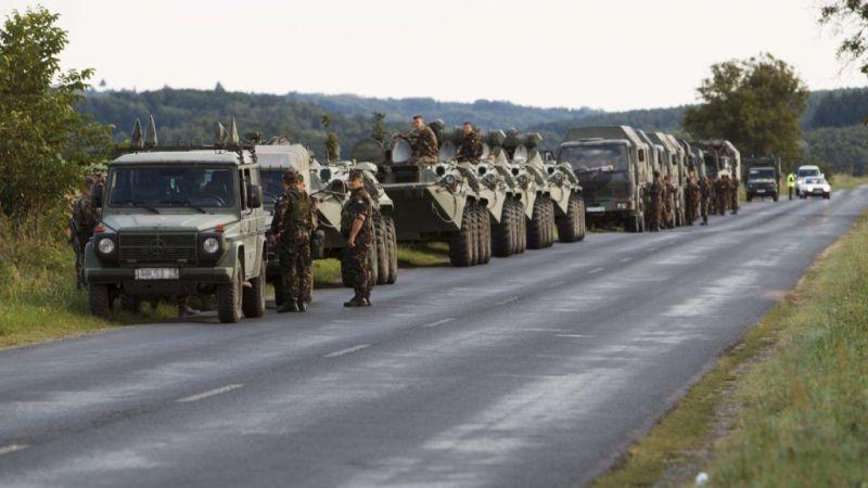 Csütörtökön katonai konvojok lepik el a magyar főutakat és autópályákat