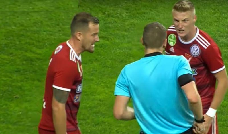 Leordította a bíró fejét a magyar focista, megvan a büntetése