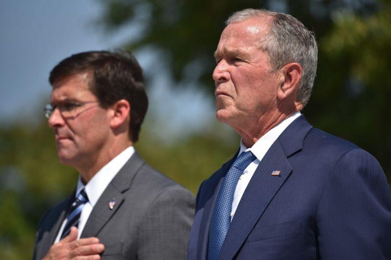George W. Bush úgy látja, hogy az USA mára bizonytalan helyzetben van