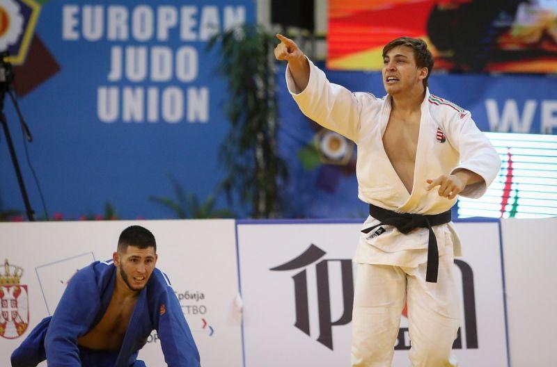 U23-as cselgáncs-Eb – Gőz Roland és Sipőcz Richárd aranyérmes