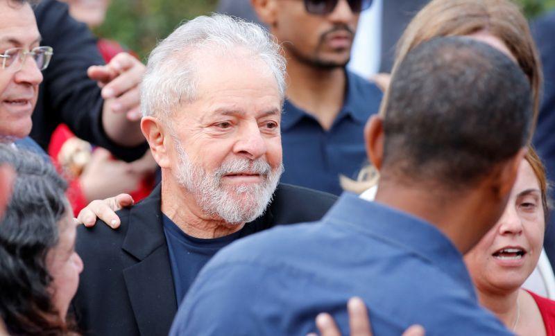 Szabadon engedték a börtönből Lula da Silva volt brazil elnököt