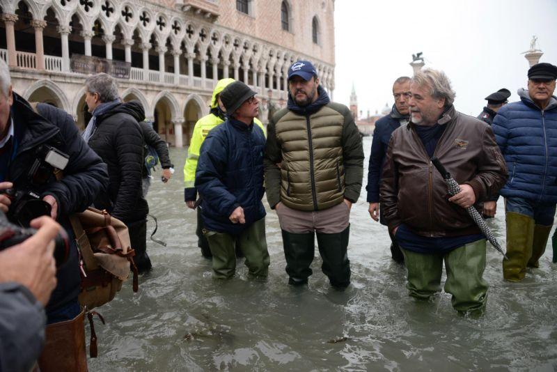 Salvini szerint, aki az EU-val tárgyal, az hazaáruló