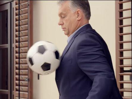 Orbán a Várból egyenest az új Puskás-stadionba rúgta a labdát – videó