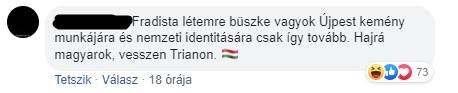 Kiakadt a volt újpesti polgármester, mert a székely mellé kikerült az EU-s zászló is a városházára