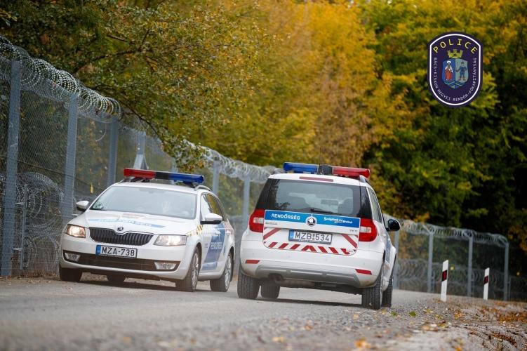 Több mint félezer határsértővel szemben intézkedtek a hétvégén a rendőrök