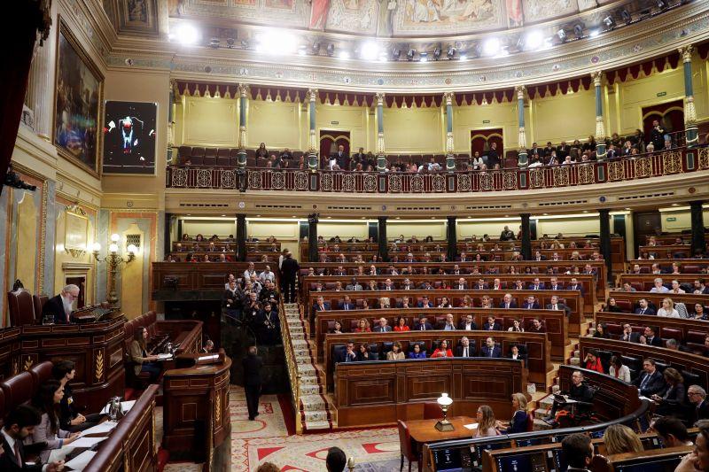 Nők vezetik a spanyol parlamentet