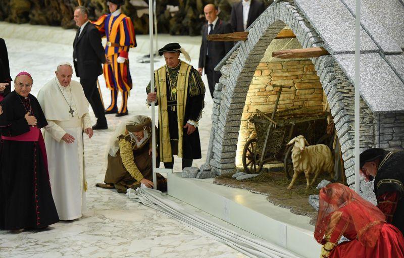Ferenc pápa budapesti eseményt promózott