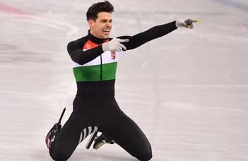 Egy insta-poszt miatt indul fegyelmi az olimpai bajnok gyorskorcsolyázó, Burján ellen