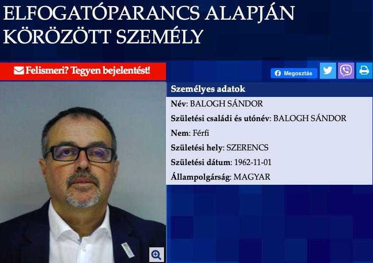 Elfogatóparancsot adtak ki Orbán egyik miniszterének volt férje ellen