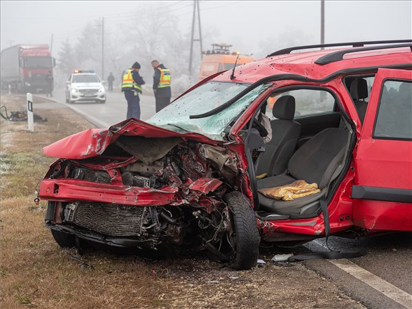 Halálos baleset történt Tompánál