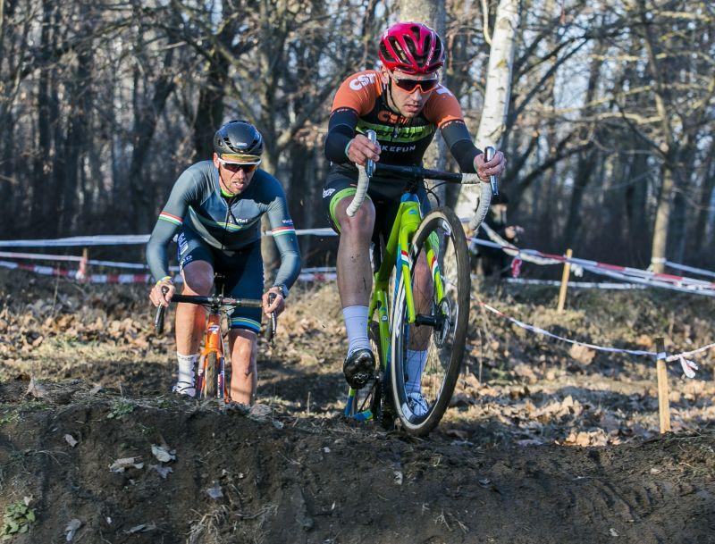 A Vas testvérek címvédése a téli terepkerékpár országos bajnokságon