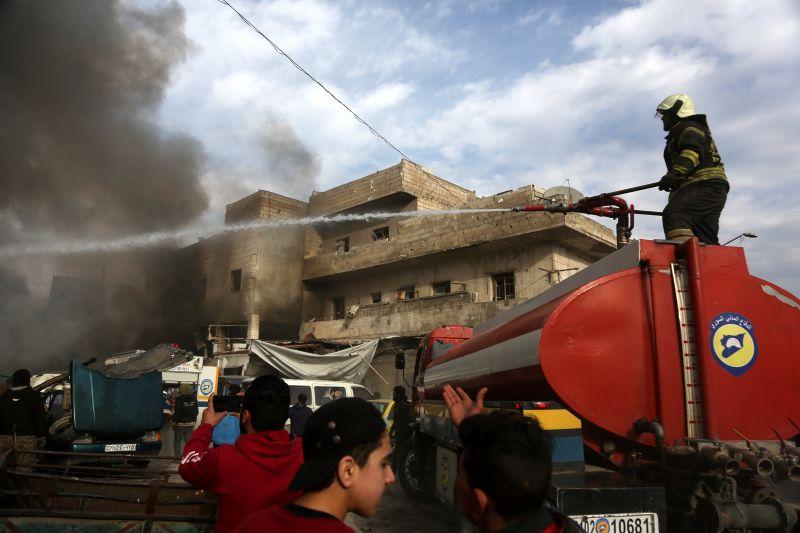 Tucatnyi gyereket öltek meg orosz bombák Szíriában
