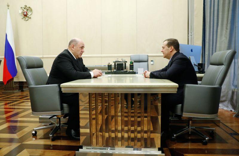 Már meg is alakult az új orosz kormány