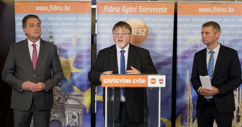 Beállt a Fidesz polgármesterjelöltje mögé a győri MSZP volt alelnöke