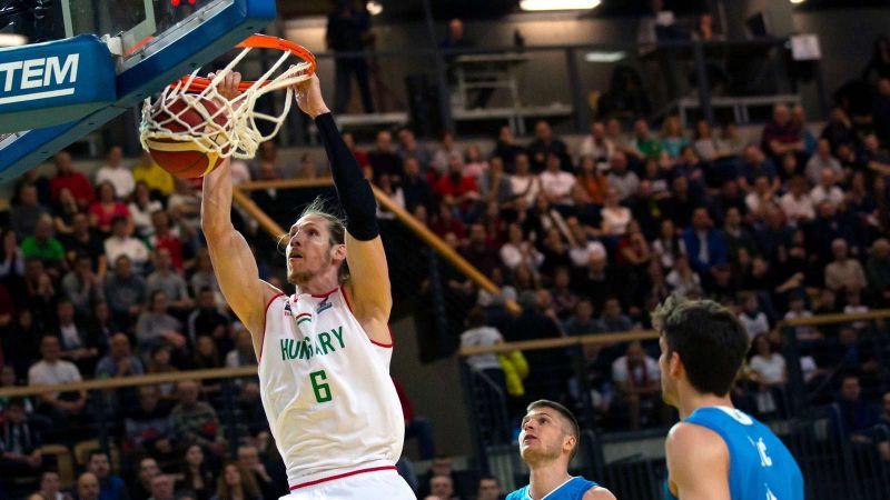 Férfi kosárlabda Eb-selejtező: Ukrajna-Magyarország 60-62
