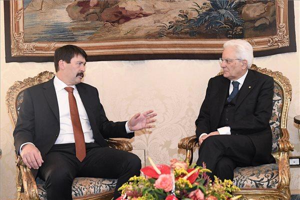 Áder: az Európai Unió hitelessége múlik a bővítési folyamat felgyorsításán