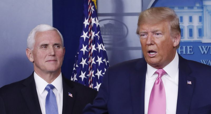 Trump helyettesét is tesztelték koronavírusra – ez lett az eredmény