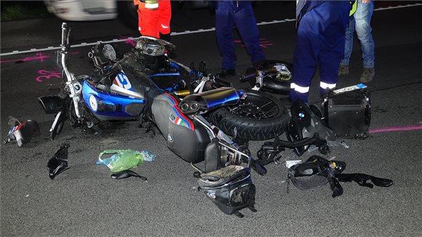 Meghalt egy motoros az M5-ös autópályán