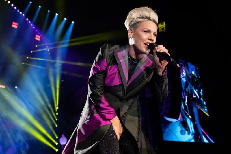 Pink and her three-year-old son also recovered from the coronavirus