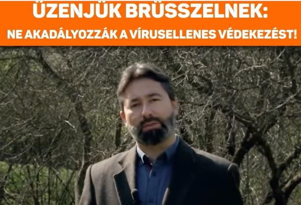A Fidesz videóüzenetet küldött Brüsszelnek: Több tiszteletet Magyarországnak!