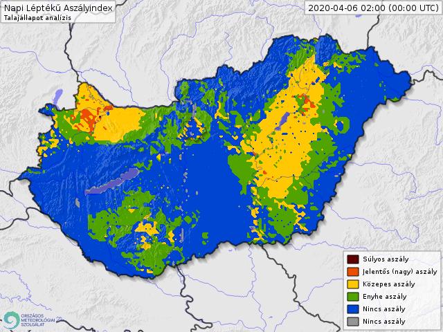 Egyre nagyobb területen pusztít az aszály Magyarországon