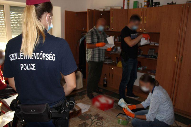 Drogügyben a román rendőrökkel együttműködve csapott le a készenléti rendőrség