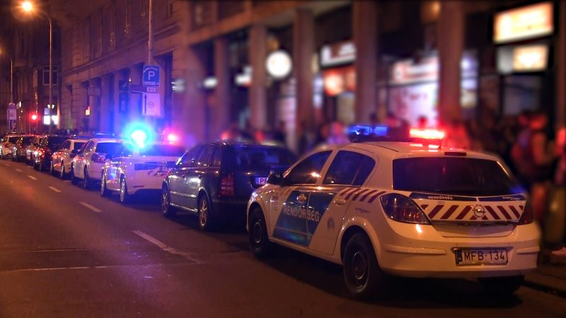 Razziáztak a rendőrök a bulinegyedben: közel 900 embert igazoltattak