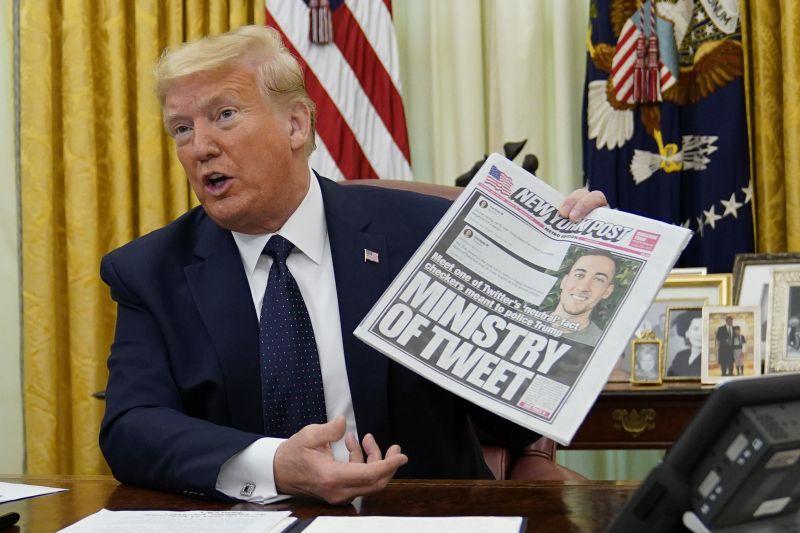 Trump a hadsereg bevetésével fenyegeti a lázadó amerikaiakat