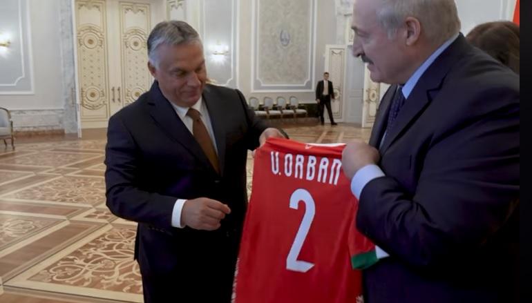 Fantasztikus ajándékot kapott Orbán Viktor a fehérorosz elnöktől