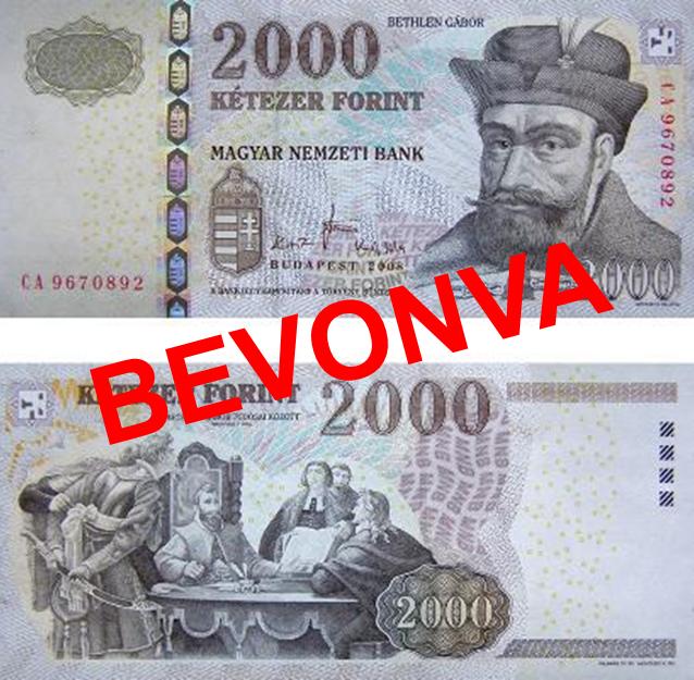 Július végéig lehet átváltani a régi 2000 és 5000 forintos címleteket