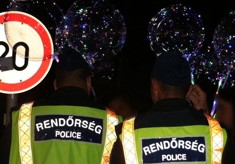 Közel száz rendőr razziázott a siófoki bulinegyedben – videó