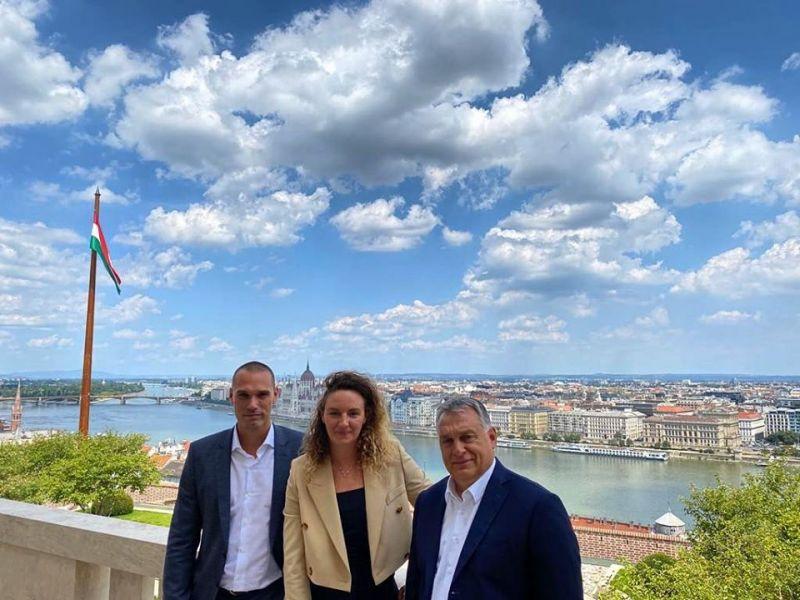 Hosszú Katinka Orbán Viktornál járt, és tetszett neki, amit látott