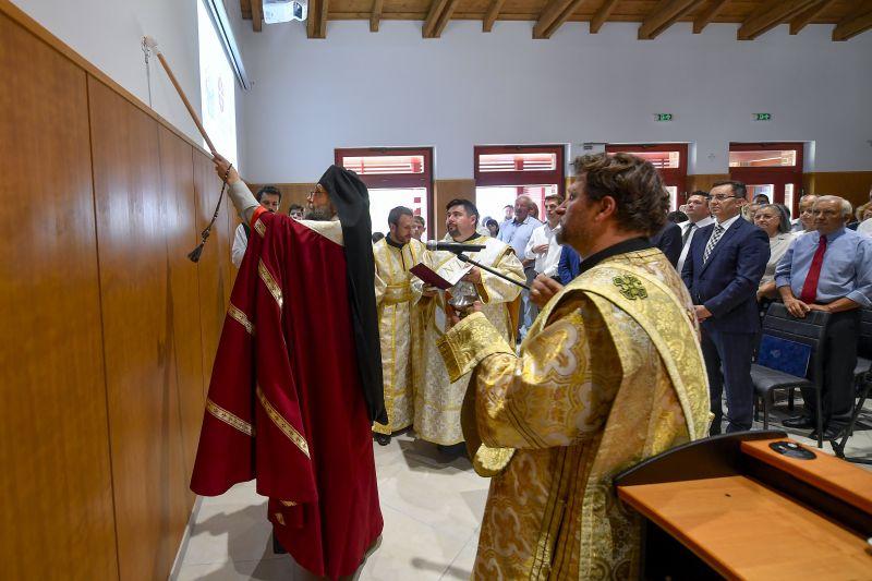 Görögkatolikus látogatóközpontot adtak át Debrecenben, Brüsszelnek is üzentek