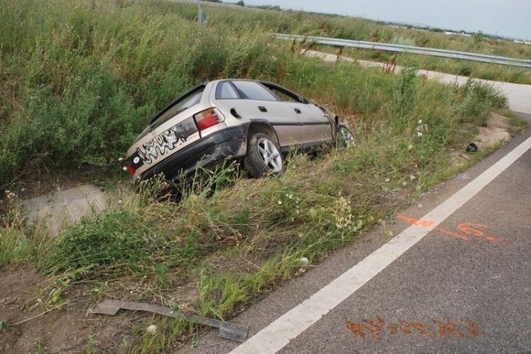 Nagyjából semmi sem volt rendben a sofőrrel, aki balesetet szenvedett a 8-as főúton