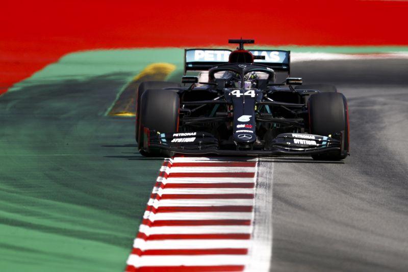 Hamilton volt a leggyorsabb a Spanyol Nagydíj időmérőjén