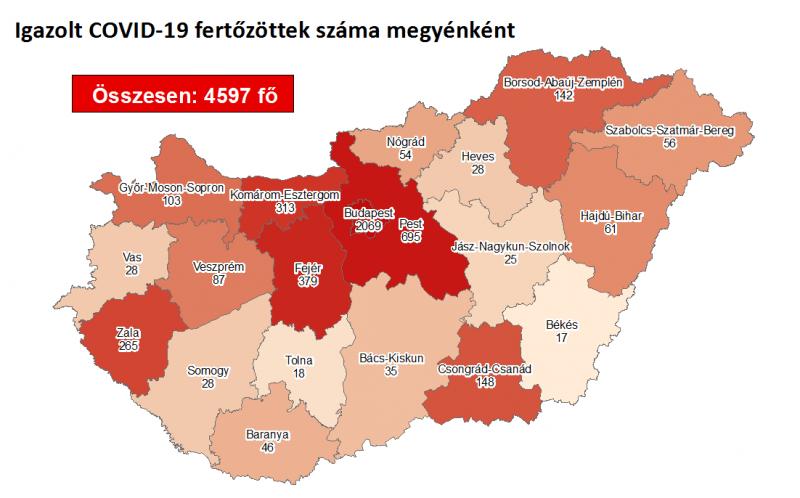 Koronavírus: egy halott és 33 új fertőzött Magyarországon